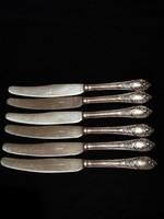 Antik Ezüstözött kések