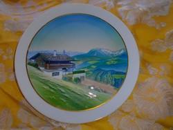Rosenthal falitányér -dísztányér  21 cm