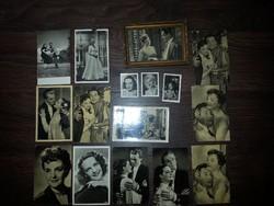 Tolnay Klári képeslapok 16 db