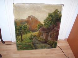 Nagyméretű szép festmény eladó