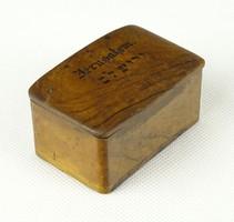0X780 Antik picike Jeruzsálem fadoboz