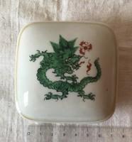 Sárkányos porcelán bonboniere