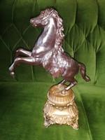 Fém ló Antik 37cm