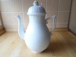 Herendi fehér porcelán kiöntő kanna 1,2 liter