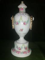 Altwien M. Z. Rózsás váza 20cm