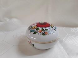 Kalocsai kézi festésű bonbonier  /  2603