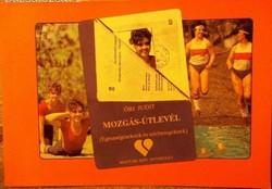 Mozgás-útlevél  Egészségeseknek és szívbetegeknek