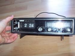 RITKASÁG! Számlapejtős-számforgatós rádió óra