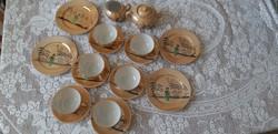 Japán tojáshéj porcelán reggeliző  szettek