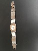 Izraeli ezüst óra római üveggel (nagyon szép)