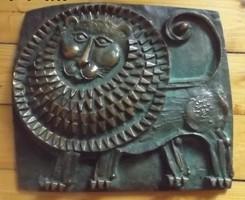Oroszlán bronz Képcsarnok Kopcsányi Ottó