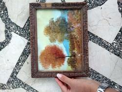 Őszi táj - Festmény