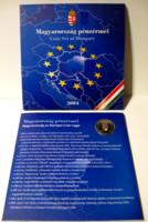 """2004 -es Dísztokos forgalmi sor - PP, - 50 Ft-os forgalmi emlékérmével -  """"EU"""""""
