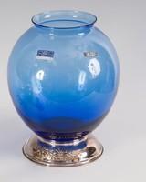 Ezüst talpú váza