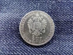 Ausztria Ferenc József .520 ezüst 1/4 Florin 1861 A (id9357)
