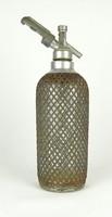 0X839 Auto syphon drótfonatos szódásüveg 1930