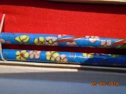 Rekeszzománc cloisonné kínai evőpálcika pár,dobozában
