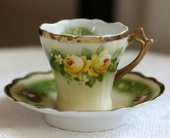Bíder porcelán kávés csésze szett