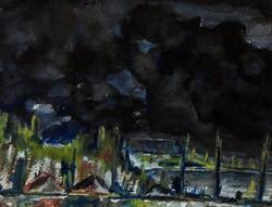 Ismeretlen (20.sz 2.fele) - Felhők a Balatonnál
