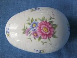 Hollóházi porcelán nagyobb méretű bonbonier ékszertartó