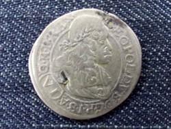 Ausztria I. Lipót (1657-1705) ezüst 3 Krajcár 1665 CA (Bécs) (id10312)