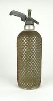 0X838 Antik Sparklet drótfonatos szódásüveg 1935