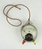 0X784 Régi ritka kézi voltmérő műszer