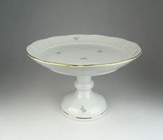 0R356 Heredi porcelán talpas torta kínáló tál