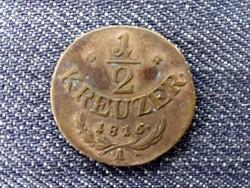 Ausztria II. Ferenc 1/2 Krajcár 1816 A (id10317)