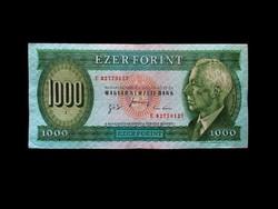 1000 FORINT - UTOLJÁRA NYOMTATOTT BARTÓKOS - 1996
