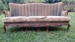3 személyes neobarokk kanapé