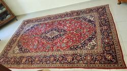 Gyönyörű szép Iráni Keshan kézi csomózású gyapjú szőnyeg 200 cm X 310 cm