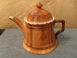Antik Csontporcelán átlátszó hibátlan  tea,kávé,tejkiöntő formaszám + jelzés
