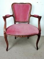Neobarokk  fotel- karosszék