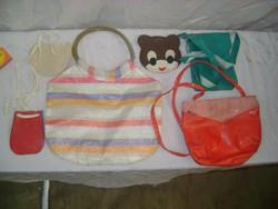 Retro kislány táskák, ridikül, pénztárcák