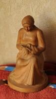 Kasztner - 1938-terracotta..Szobor
