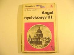 ANGOL NYELVKÖNYV 1990 régi könyv