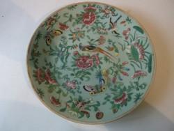 Antik kínai porcelán tányér Daoguang császár kori (1821-1850)