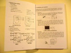 POWERMUST 400 600 800 USB SZÜNETMENTES HASZNÁLATI ÚTMUTATÓ régi könyv