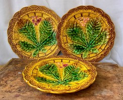 Villeroy&Boch Schramberg majolika tányérok 3 db egyben