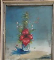 Szántó Piroska: Virágcsendélet