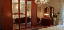 Olasz luxus! Intarziás hálószoba bútor ágy szekrény komód tükör gardrób franciaágy éjjeliszekrény