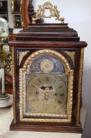 Antik barokk asztali, kandalló óra