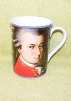 Mozart porcelán bögre