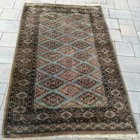 Kézi csomózású Pakisztáni bokhara szőnyeg.158x100cm