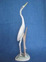 Aquincumi porcelán nagy méretű madár gém