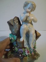 Furulyázó putto, DÉPOSÉ porcelán