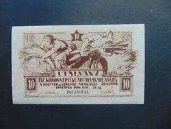 10 korona 1919 Fegyver és Gépgyár