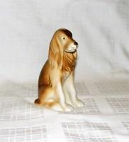 Spániel kutya figura Royal Dux porcelán
