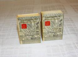 Könyvnyomtatás Magyarországon  1703 - 1973 ig 2 kötet mini könyv